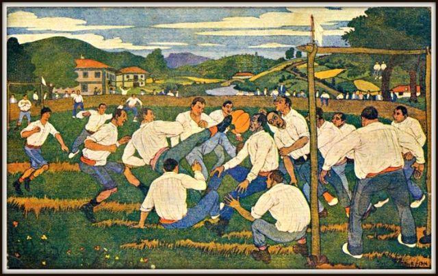 José-Arrúe-Escena-de-fútbol-basco-1914